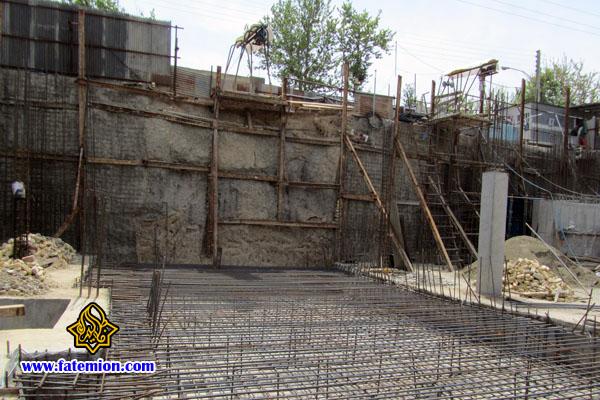مرحله چهارم-احداث طبقه دوم